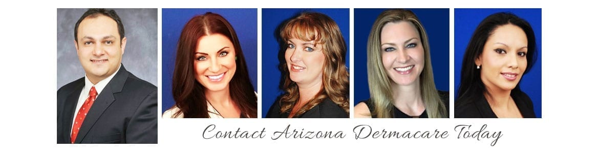 Collage of Dermacare Team Head Shots